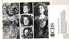 MICHAEL JACKSON DIANA ROSS THE WIZ RARE 84 CBS TV PHOTO