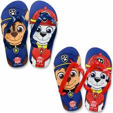 ea80f0711def6a Boys Paw Patrol Flip Flops Sandals Pool Shoes Sizes 6-13 Junior NEW FREE  POST