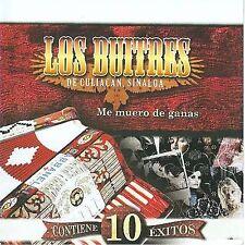 New: Los Buitres De Culiacán: Me Muero De Las Ganas  Audio CD