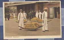 Old Postcard Alkmaar Kaasdragers   Netherlands
