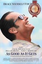 NEW AS GOOD AS IT GETS 1997 90s JACK FILM MOVIE ORIGINAL PRINT PREMIUM POSTER