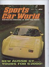 Sports Car World Magazine Toohey GT Javelin 401 Renault Alpine Fiat X1/9 Abarth