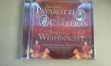 CD--LUCIANO PAVAROTTI--JOSE CARRERAS--FESTLICHE WEIHNACHT ----ALBUM