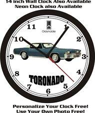 1971 OLDSMOBILE TORONADO WALL CLOCK-FREE USA SHIP