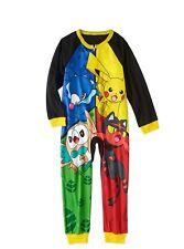 Pokemon Long Sleeve Sleeper Blanket Pajama Boy Size 6/7 8 10/12