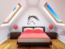 Etiqueta engomada de arte de la pared de caballo el Dormitorio Salón Hogar Chicas Animal Pony Pegatina hágalo usted mismo