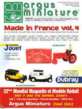 Argus de la Miniature, Spécial Made in France Vol.4 Pla