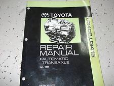 2002 Toyota ECHO AUTOMATIC TRANSAXLE Service Shop Repair Manual U340E U341E