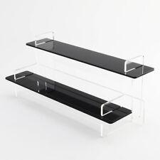 2 Tier Slimline Make Up Display Stand, 295mm Wide, 55 Colours, Nail Varnish