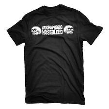 AGORAPHOBIC NOSEBLEED Skulls T-Shirt NEW! Relapse Records TS2834