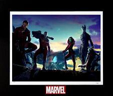 Marvel Guardians of The Galaxy Milano Spaceship Amazing Galactic Sunset Fine Art