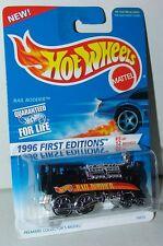 Hot Wheels 1996 First Editions 5 of 12 Rail Rodder Chrome Wheels #370 - MOC