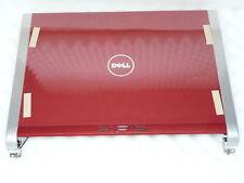 Brandneue Original Dell XPS M1330 CCFL LCD Deckel TOP Abdeckung Rot Scharniere