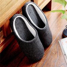 hiver homme confortable chaussures sans lacets Chausson d'intérieur coton Home