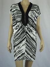 Brave by Wayne Cooper Ladies Cloudy Horizon Dress sizes XSmall Small Black White