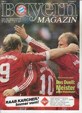 BL 86/87 FC Bayern München - SV Werder Bremen