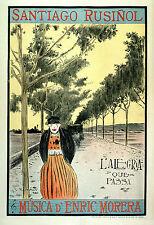 Vintage Français Style Art Nouveau shabby chic imprimés & AFFICHES 124 A1, A2,