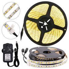 Super Bright 600 LED Strip Light 5630 DC12V 5m/lot  Flexible With UK adapter