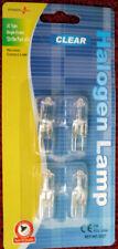4 G4 CAPSUL BULBS HALOGEN 12 VOLT 10 WATT
