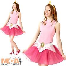 Aurora Tutu Set Ladies Teens Fancy Dress Disney Princess Costume Accessory Kit