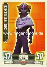 Senator Riyo Chuchi #062 - Force Attax Serie 2