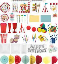 Kinder-Geburtstag Party Deko Feier Fete Motto Lustiger Zirkus