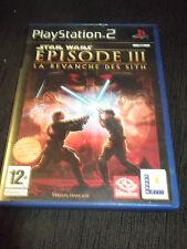 Star Wars Episode III La revanche des Sith Playstation 2 complet de sa notice