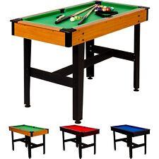 4ft Billardtisch (Maße 122x61x76 cm) Pool Billiard Billard Billiardtisch 4 Fuß