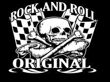 Rock And Roll Camiseta & OSITO NIÑO Rockabilly The Estilo 50's Café Racer Motero