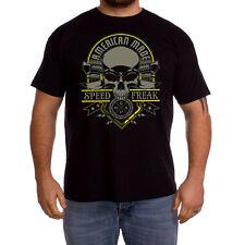 Camiseta biker motero rider choppers T shirt American made speed freak