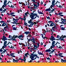 Soimoi Fabric Artistic Leaf & Floral Fabric Prints By Meter-FL-720C