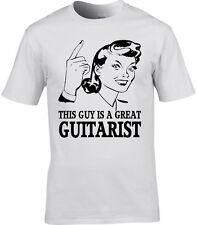 Guitarrista Camiseta Hombre - Regalo Eléctrico Música Acústica Rock Guitarra