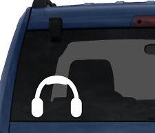 Music Icon - DJ Headphones Audio Recording Musician Art - Car Tablet Vinyl Decal