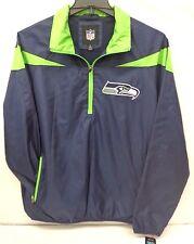 Seattle Seahawks Men's G-III Tailback Half Zip Pullover Jacket 811