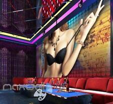 Sexy Stripper Bar Whisky Dance Art Wall Murals Wallpaper Decals Prints Decor