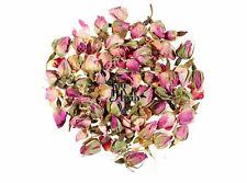 Rosenknospen Ganz Getrocknet Rosa Rosenblüten Kräutertee 25g-75g - Rosa