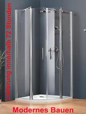 Schulte ALEXA-STYLE 2.0 Runddusche 90 x 90 cm, R 500 od. 550 incl. Fixil, silber