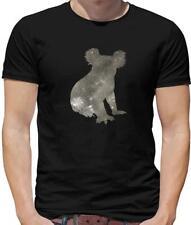 Space Koala Mens T-Shirt - Bear - Animal - Australia - Wombat - Gift