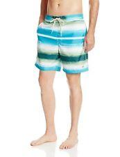 NWT Caribbean Joe Men's Swim Trunk Swimwear Surf Board Short Blue Baltic