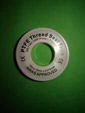PTFE Teflon Tape BS 7786 Plumbing Plumber Thread Seal Joint Potable Water