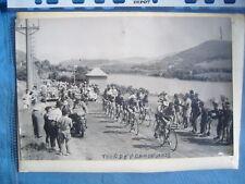 TOUR DE FRANCE 1953 PHOTO PRESSE ORIGINALE PELOTON
