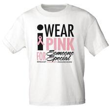 Marken T-Shirt unisex S M L Xl Xxl Fun Shirts I wear pink 13167 weiß
