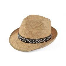Cappello paglia farmer trilby hat ala 4,5 cm