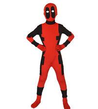 Halloween Deadpool Costume Kids Size Whole Body Jumpsuit