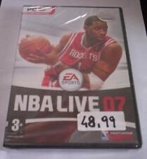 NBA LIVE 07 gioco pc originale completo NUOVO basket