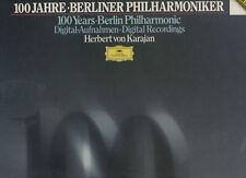 HERBERT VON KARAJAN  box 4 dischi LP Berlin Philharmonic 100 YEARS Mendelsson