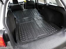 3pc boot liner load mat bumper protector VW Volkswagen Golf Mk 7 estate rubber