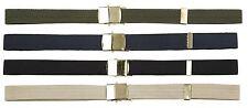 """Unisex 1"""" in ottone Cintura Cinghia Fibbia in metallo"""