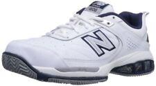 New Balance Men's mc806 Tennis Shoe, White-navy