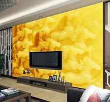 3D Giada gialla 14 Parete Murale Carta da parati immagine sfondo muro stampa